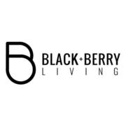 black and berry living logo